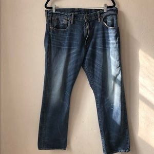 Ralph Lauren bootcut fit men's jeans 36 x 30